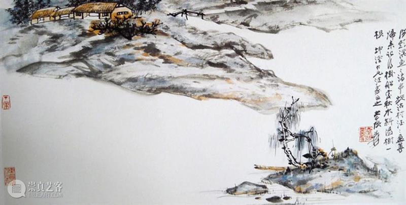 人物丨张大千:画别人的画以假乱真,当成真迹卖出天价  中国舞台美术学会 真迹 天价 张大千 人物 上方 中国舞台美术学会 右上 星标 本文 油画 崇真艺客
