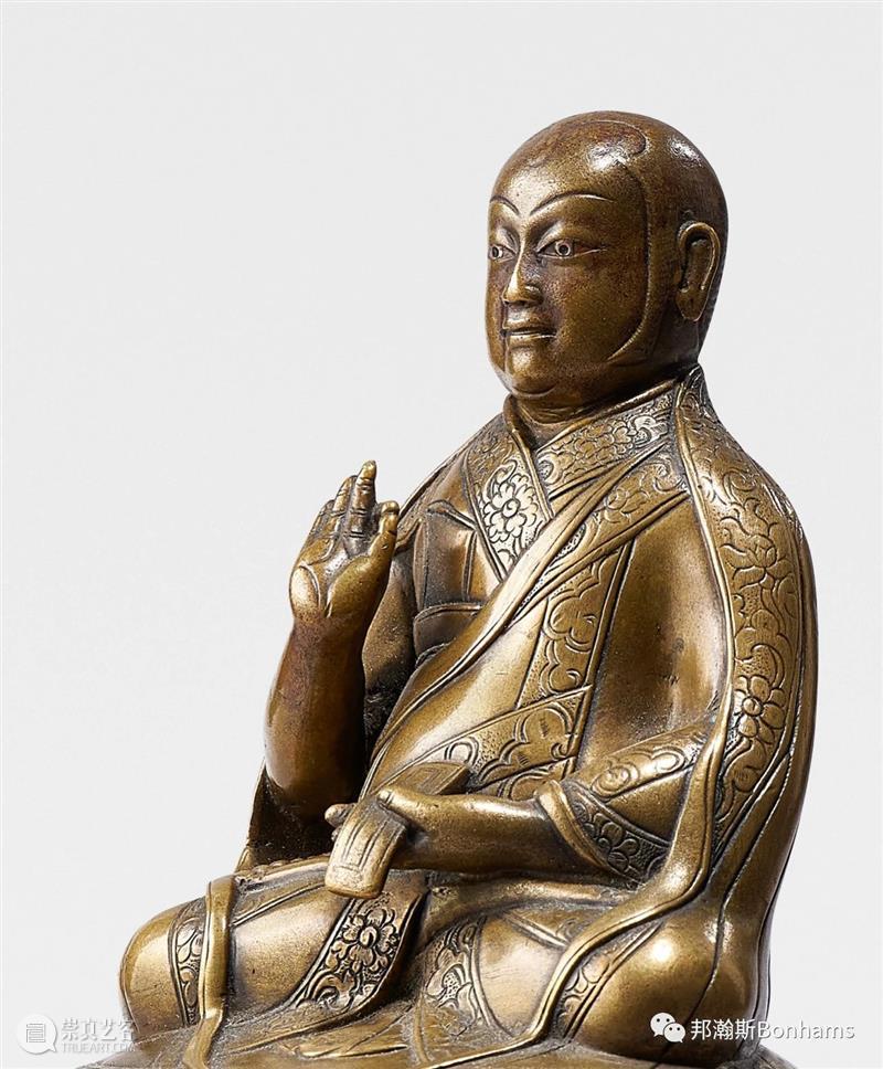 藏师之像——西藏祖师像之服饰探究  邦瀚斯 西藏 祖师 服饰 Wilkinson Dora Tan 过去 岁月 青藏高原 寺庙 崇真艺客