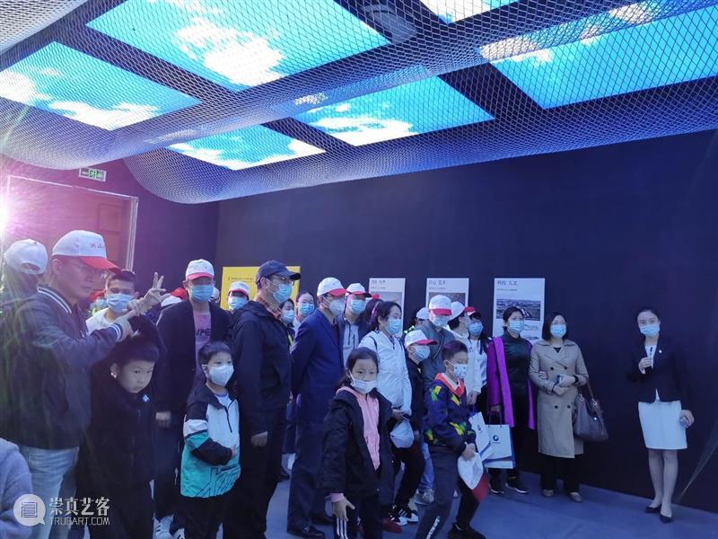 国庆期间,有这样一群人来到了合美术馆 合美术馆 期间 一群人 假期 恰逢 疫情 全国 景区 活动 黄山景区 崇真艺客