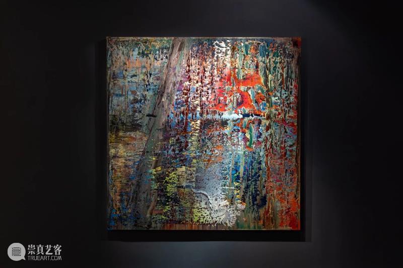 里希特抽象画2.15亿成交!蘇富比当代艺术晚拍成交6.84亿,再创新高! 蘇富比 艺术 新高 里希特 抽象画 网上 模式 香港 成交额 港币 崇真艺客