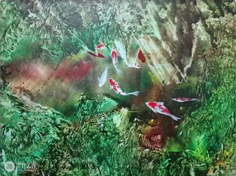 【展商秀】杰•艺术 西塞山前白鹭飞,桃花流水鳜鱼肥 艺术 展商秀 西塞山 白鹭 鳜鱼 艺术上海 上海 艺术界 首场 盛会 崇真艺客