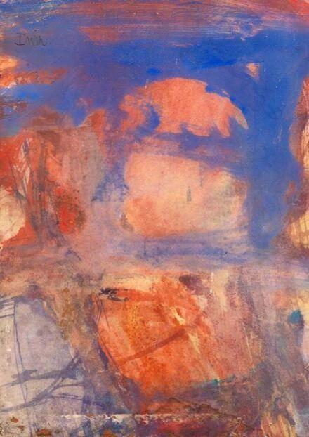 同行/高烧的色彩 | Albert Irvin Irvin 色彩 同行 高烧 英国 表现主义 画家 终生 伦敦 生活 崇真艺客