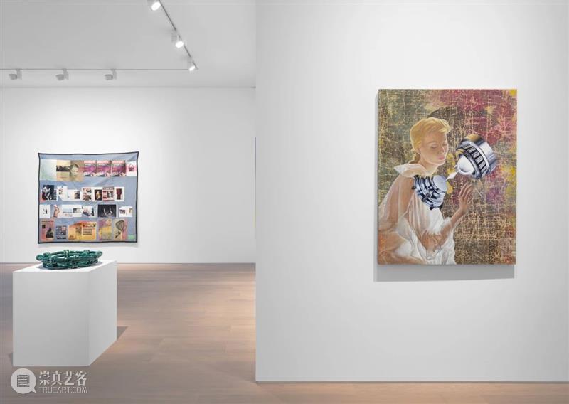 Simon Lee 画廊正在展出 弗里兹线上展厅 画廊 弗里兹 线上 展厅 Lee LEE 伦敦 空间 作品 下方 崇真艺客