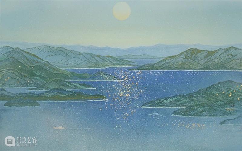 春风盎然 夏意清凉 春风 夏意 日本 画家 Takashi Ueno 上野 神奈川县 东京艺术大学 期间 崇真艺客