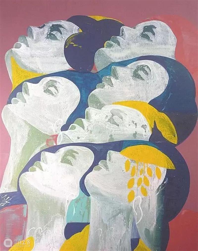 "【IFA-艺术赏析】""分裂""的艺术|Essam Marouf Marouf IFA 艺术 Essam Marouff 开罗 画家 艺术家 埃萨姆 马鲁夫 崇真艺客"