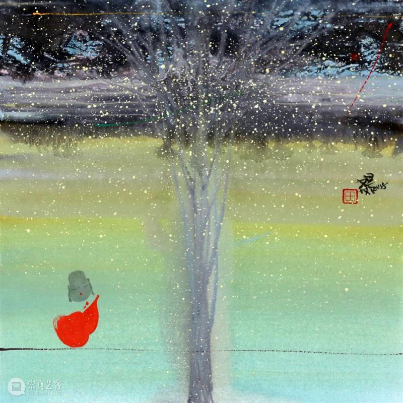 M50展览 | 逸乐心禅--田旭桐水墨作品展 田旭桐 水墨 作品展 逸乐心禅 北京 中央工艺美术学院 清华大学美术学院 教授 硕士生 导师 崇真艺客