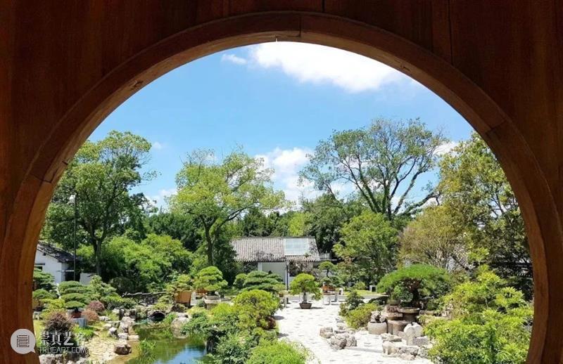 """景观丨框景之美,别有""""洞""""天 框景 景观 上方 中国舞台美术学会 右上 星标 本文 云上 文化 建筑 崇真艺客"""