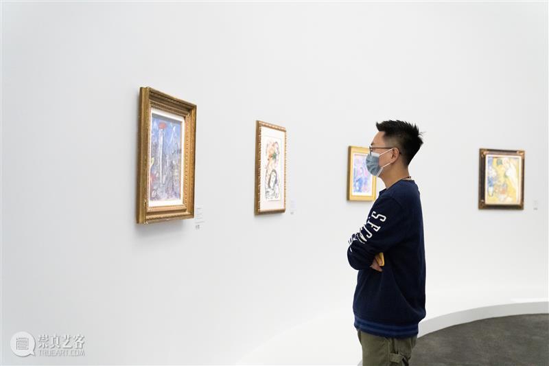 """央美廊坊馆2020年度大展丨用生命去爱的""""马克·夏加尔""""来了 热点聚焦  央美廊坊馆 中央美术学院美术馆廊坊馆 马克·夏加尔 崇真艺客"""