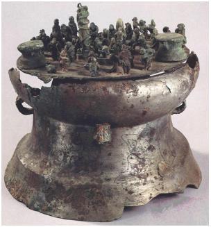 禁止出境展览的绝世国宝之西汉青铜器 国宝 青铜器 场面 贮贝器 方寸 之间 滇王杀祭诅盟 典礼 中文 名称 崇真艺客
