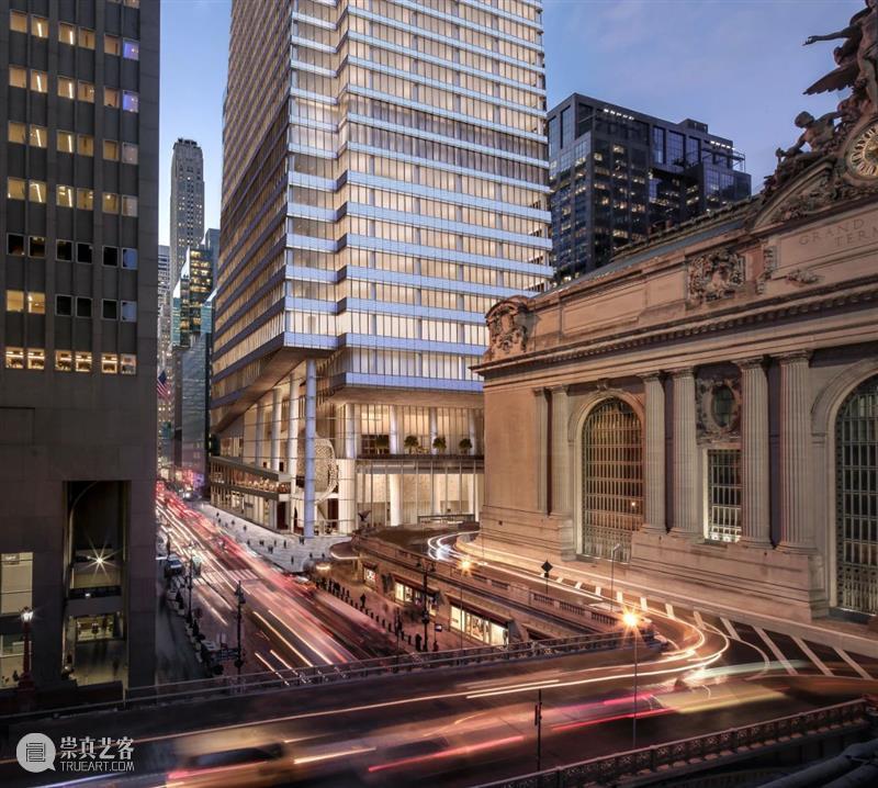 纽约范德比尔特一号,427米曼哈顿中城最高办公楼 / KPF 纽约 范德比尔特 曼哈顿中城 办公楼 KPF Koch范德比尔特一号 城东区 塔楼 地铁 区域 崇真艺客