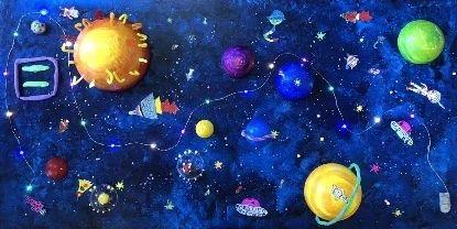 """今日美育 4C.ARTS公开课,邀你""""触摸天上的星星"""" 4C.ARTS 公开课 星星 美育 天上 科学 艺术 乔治 萨顿 George 崇真艺客"""