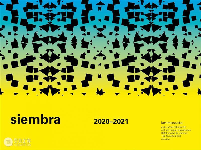 kurimanzutto展讯 | Siembra10 - 阈限:索菲亚·塔博厄斯 索菲亚 塔博厄斯 阈限 kuri 展讯 年份 系列 计划 目前 阶段 崇真艺客