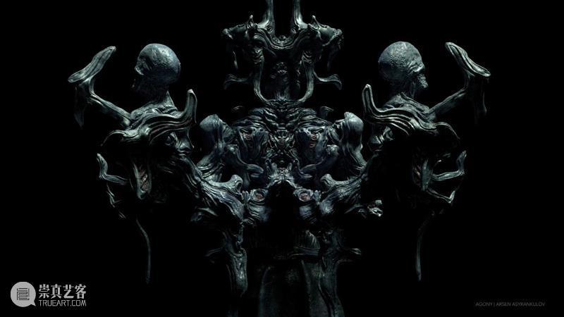 雕塑丨拉入魔幻的异次元世界,暗黑而美丽的数字雕塑 雕塑 魔幻 异次元世界 暗黑 数字雕塑 上方 中国舞台美术学会 右上 星标 本文 崇真艺客