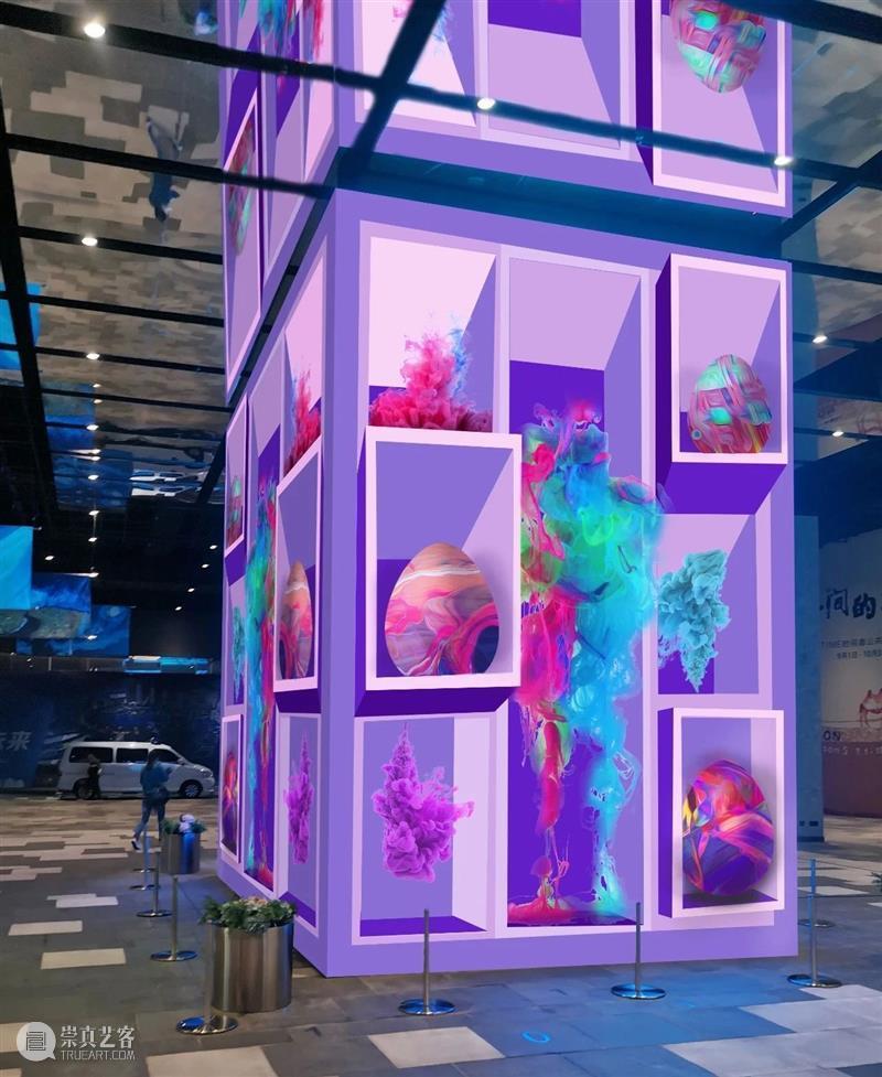 """看上海戏剧学院5位""""未来青年艺术家"""",如何在公交枢纽用艺术温暖你 公交 枢纽 未来 青年 艺术家 上海戏剧学院 艺术 作品 流影 作者 崇真艺客"""