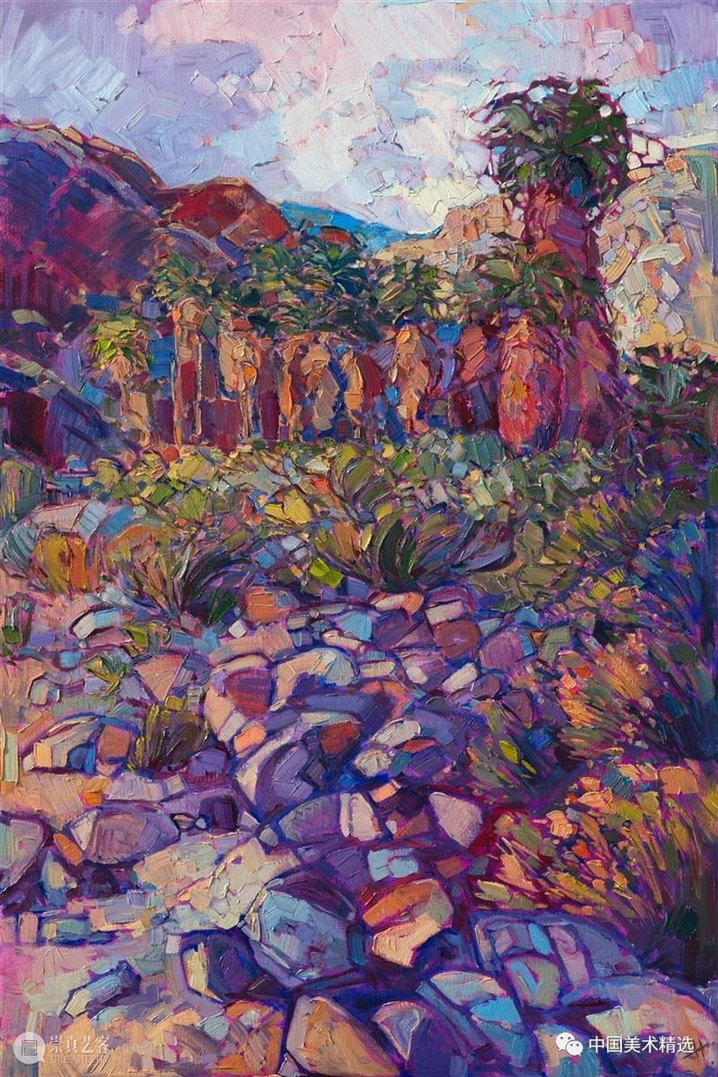 充满生命力的光色 生命力 光色 美国 加州 Hanson 风景 画风 户外 世界 Erin 崇真艺客