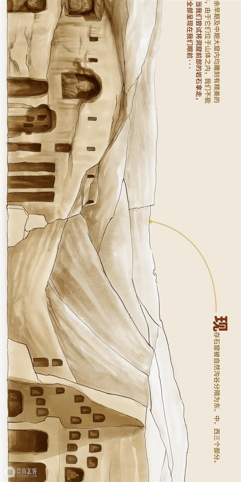 云冈石窟,是如何开凿的? 云冈石窟 中国 木头 宫殿 庙宇 日常生活 大火 木结构 灰烬 中国建筑 崇真艺客