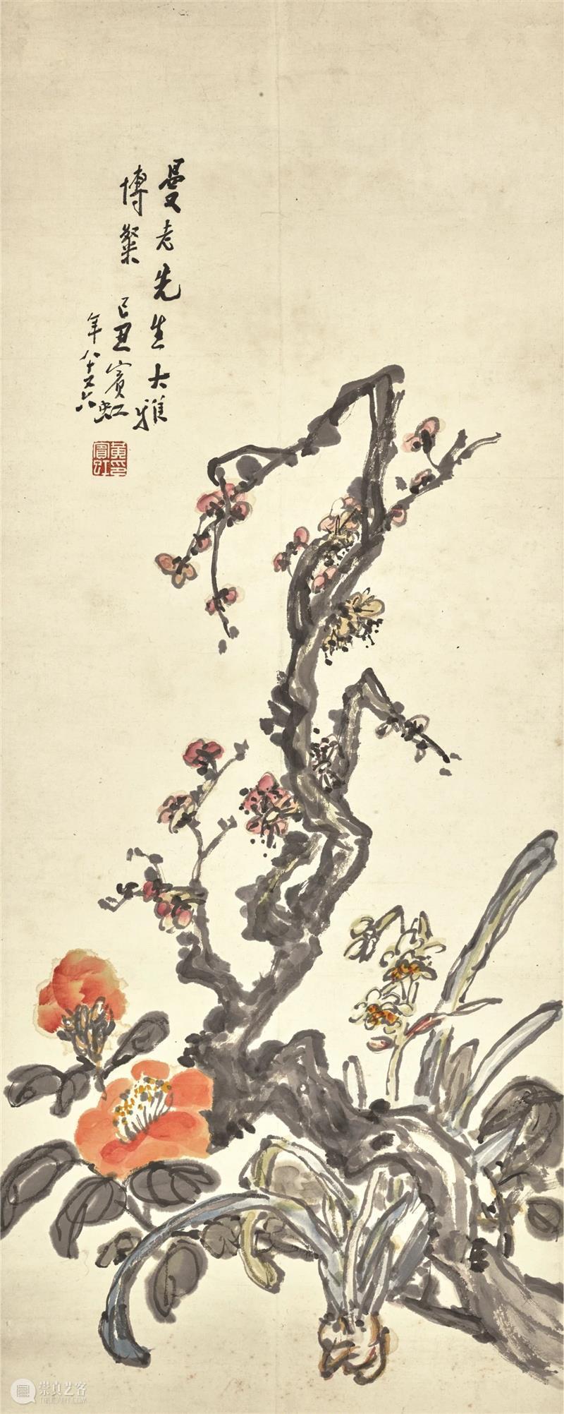 伦敦蘇富比 | 中国近现代书画巨匠 伦敦 蘇富比 中国 近现代 书画 巨匠 李可染 黄宾虹 林风眠 张大千 崇真艺客