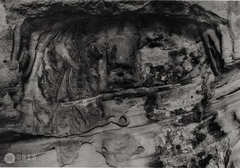 四十年代水野版云冈图集:第二窟  南山供秀 野版 云冈图集 云冈石窟 山西省 大同市西 武周山南 东西 大小 洞窟 石雕 崇真艺客