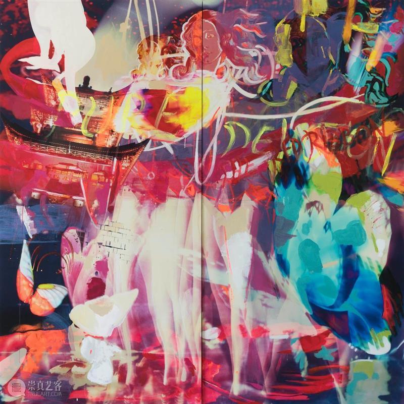 文学与夏洛特.爱神洛儿  棉布I在3画廊 夏洛特 文学 画廊 艺术家 博士 上海 Art 艺博会 芬芳 个展 崇真艺客