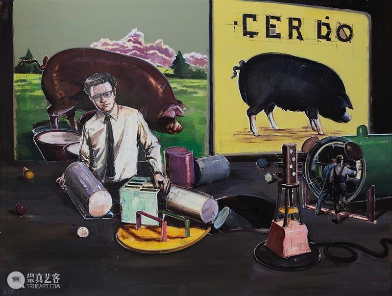 比例尺| 林清个展 比例尺 林清 个展 艺术家 Artist Lin Qing 艺术 崔璨 Critic 崇真艺客