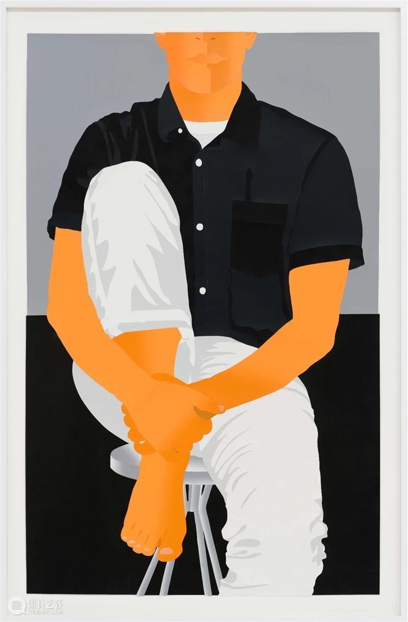 胶囊上海|安东尼·艾柯诺:替身|展览现场 安东尼 艾柯诺 现场 替身 胶囊 上海 纸上 作品 平面 丙烯 崇真艺客