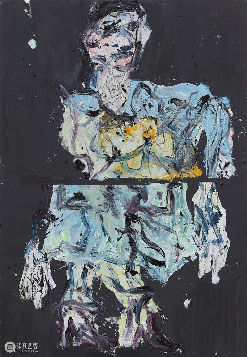 2020西岸艺术与设计博览会   白立方 展位A125 精选预览 西岸 艺术 展位 博览会 立方 Baselitz male framed Littkemann Berlin 崇真艺客