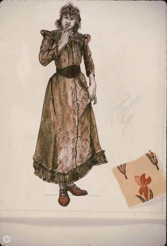 安·霍尔德·沃德手稿大赏:戏剧服装界的宝藏设计师! 崇真艺客