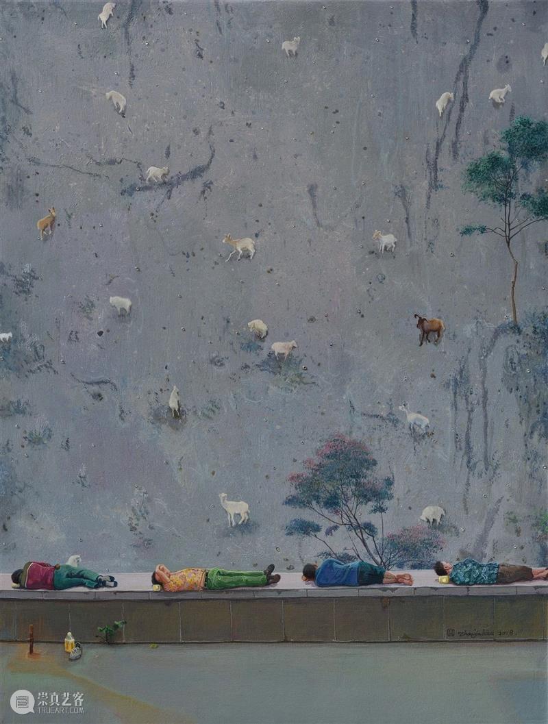 """颠倒的""""景观""""——周金华的艺术图像和话语场域 周金华 艺术 景观 图像 话语 场域 比利时 摄影师 塞巴斯蒂安 纳吉 崇真艺客"""