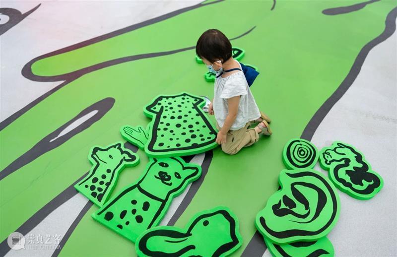 西岸美术馆走进国际童书展,共同上演秋天的艺术童话 西岸美术馆 书展 艺术 国际 童话 亲子 装置 小朋友 森林 世界 崇真艺客