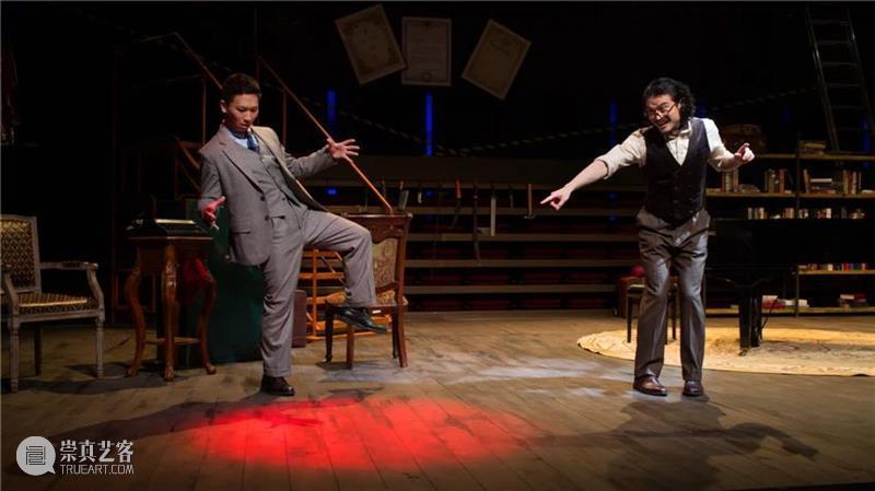 什么?他们居然也演过音乐剧《两个人的谋杀》? 音乐剧 两个人 世界 小说 作家 生日会 疑点 密室 谋杀案 一个人 崇真艺客