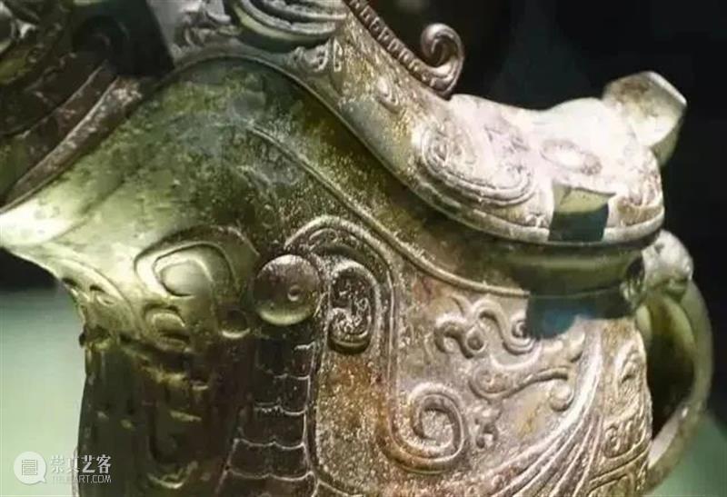 商牺觥 兽面斝 夏代铜钺如王旗 商牺觥 兽面 夏代 铜钺 王旗 上博青铜 系列 中国 青铜器 技术 崇真艺客