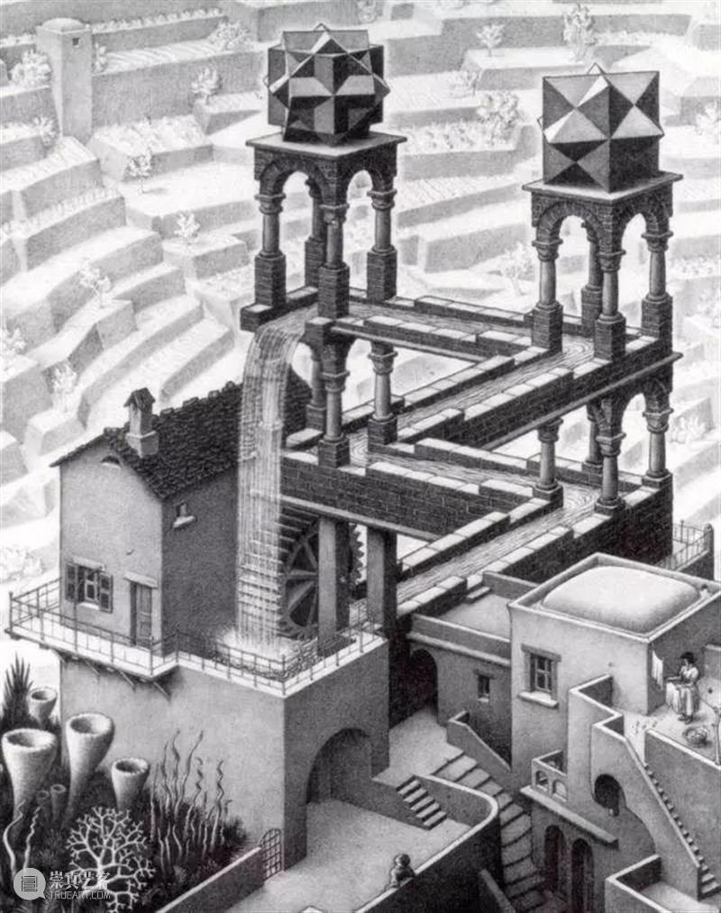 """建筑丨脱离空间逻辑,这个艺术家用一生建一座真实的""""错觉""""建筑 艺术 空间 逻辑 错觉 建筑 一生 上方 中国舞台美术学会 右上 星标 崇真艺客"""