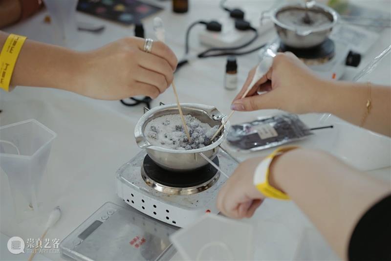 HOW 分享 | 时间与永恒:锥体香薰蜡烛工作坊 崇真艺客