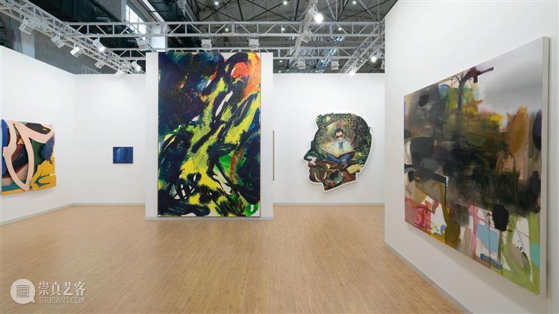 现场 | 高古轩2020西岸艺术与设计博览会展位|A102 高古轩 西岸 艺术 博览会 展位 现场 画廊 国内外 艺术家们 上海 崇真艺客