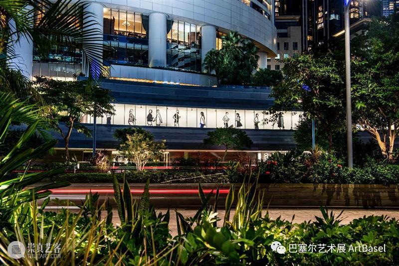 朱利安·奥培的场域特定作品《Parade.》及《Running 3.》登陆香港太古广场 Running 朱利安 奥培 场域 作品 Parade. 香港太古广场 图片 太古地产 艺术 崇真艺客