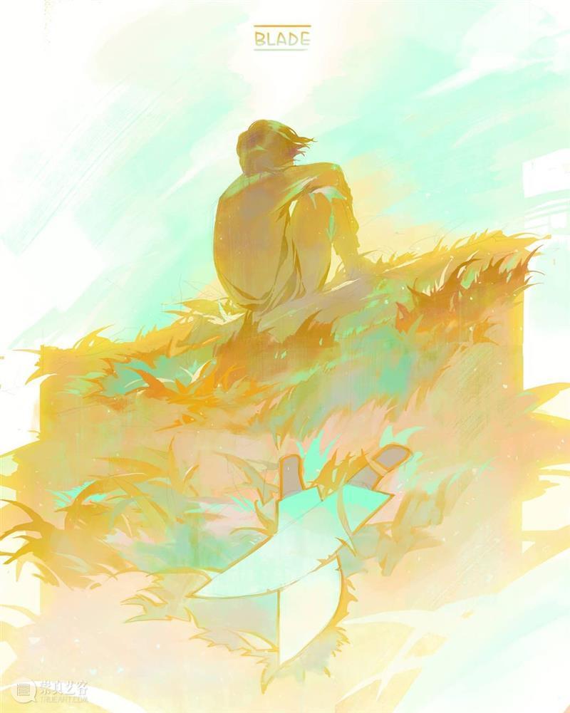 柔和的光影 光影 namendart 人物 场景 概念 插画 色调 画面 故事 氛围 崇真艺客
