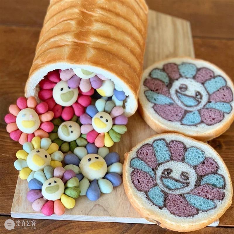 """面包里藏""""名画""""?这位妈妈把面包做成艺术品,让你大饱眼福! 名画 妈妈 面包 艺术品 本文 内容 微信公众号 墙报 wall post 崇真艺客"""