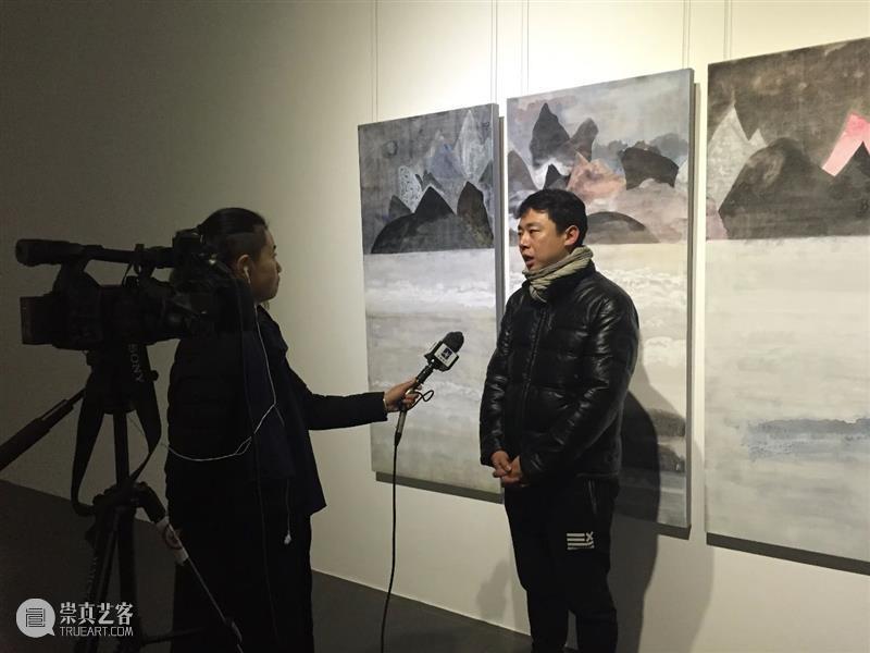 """张从云访谈:""""选择""""本身就是一种态度  ZHANG CONGYUN   ARTIST INTERVIEW 张从云 CONGYUN 态度 INTERVIEW Congyun 银山晚雪 Mountain布面丙烯 氛围 画面 东方 崇真艺客"""