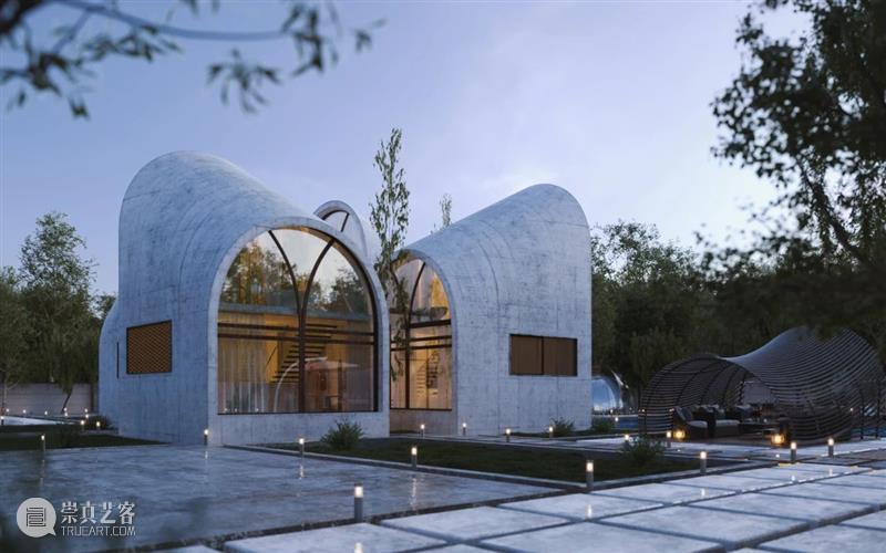 建筑丨充满未来感的概念住宅,让人心驰神往 住宅 建筑 概念 未来感 上方 中国舞台美术学会 右上 星标 本文 内外 崇真艺客