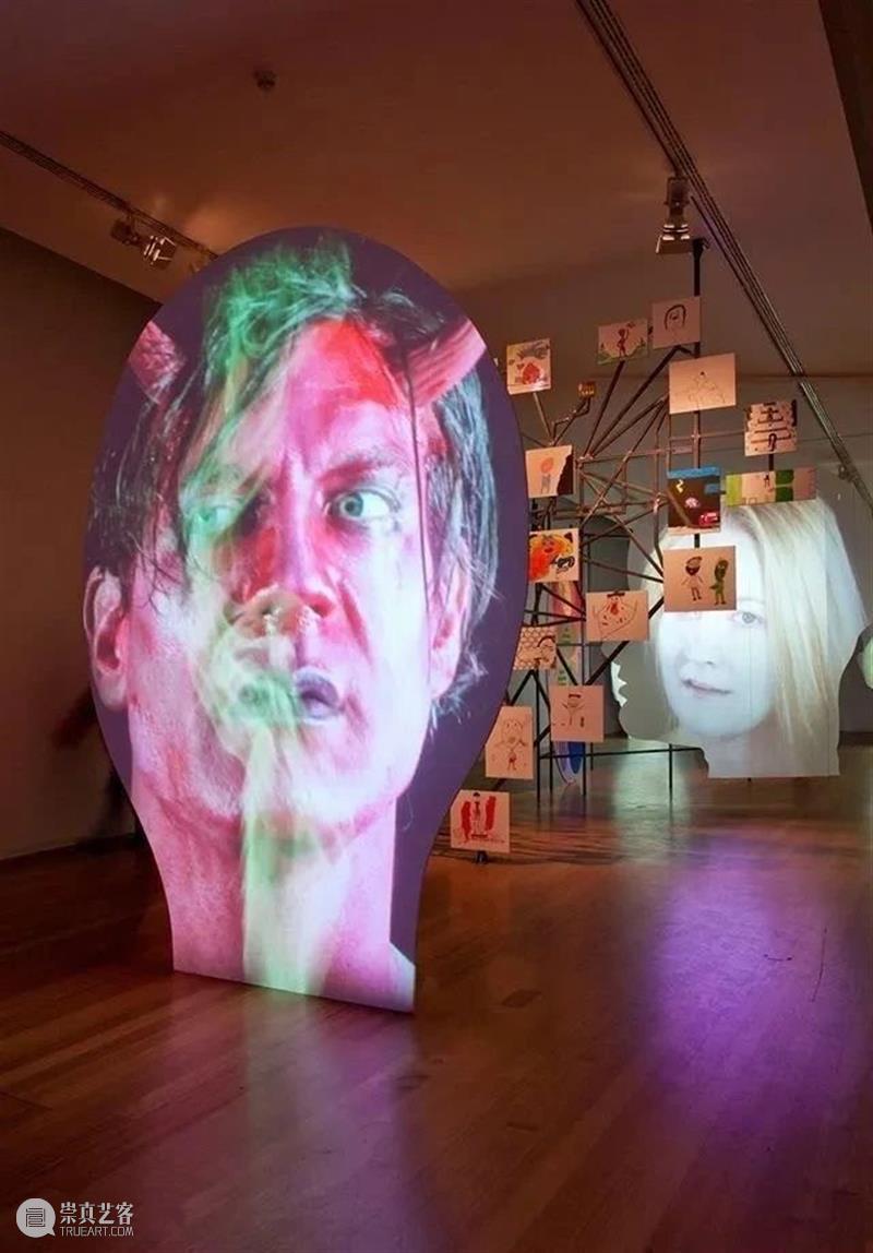 分享丨分割、变形的人脸,让他的多媒体作品独树一帜 多媒体 作品 人脸 Oursler 英国 摇滚 歌手 Bowie 大卫·鲍伊 歌曲 崇真艺客
