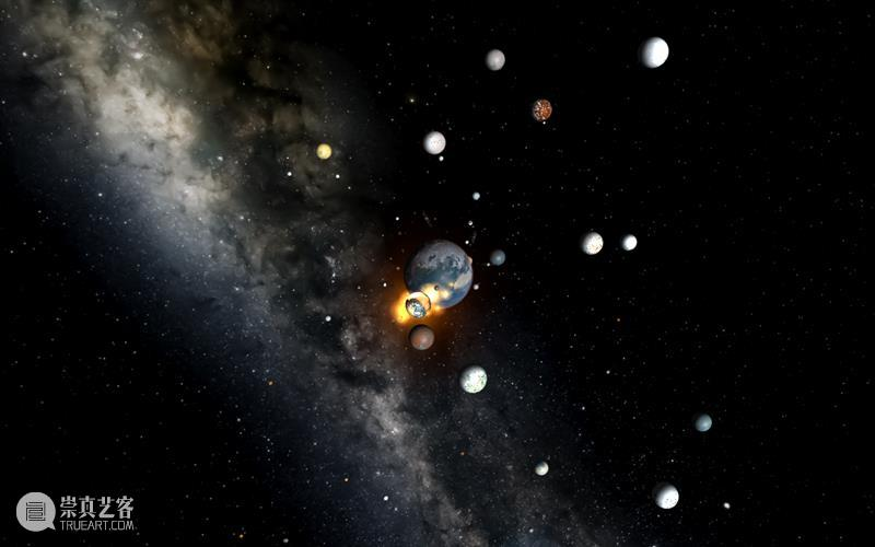 通往十一维宇宙的视觉之旅 宇宙 视觉 利维坦 电影 彗星来的那一夜 Coherence 多元宇宙 空间 感觉 加来道雄 崇真艺客