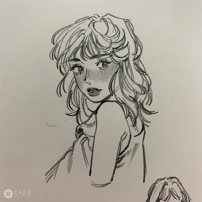 这人物速涂太好看了吧 人物 chaeee 线条 表情 个性 头像 作品 往期 好文 质感 崇真艺客