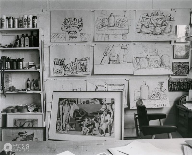 H&W展览:豪瑟沃斯圣莫里茨呈献展览「菲利普·加斯顿:变形」 豪瑟 沃斯 菲利普 加斯顿 圣莫里茨 个展 空间 线上 时间 地点 崇真艺客