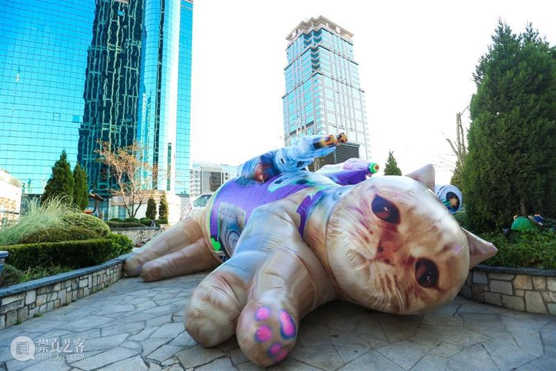 "K11展览   20多位艺术在上海开启""新世界狂潮"" 狂潮 上海 艺术 新世界 程然 作品 阿龙 天空 战体 FOUNDATION 崇真艺客"