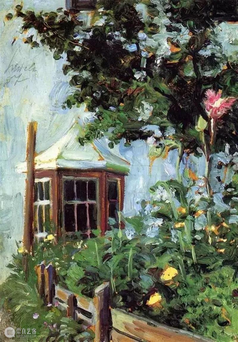 情色艺术大师席勒风景画 席勒 情色 艺术 大师 风景 维也纳分离派 代表 表现主义 画家 油画 崇真艺客