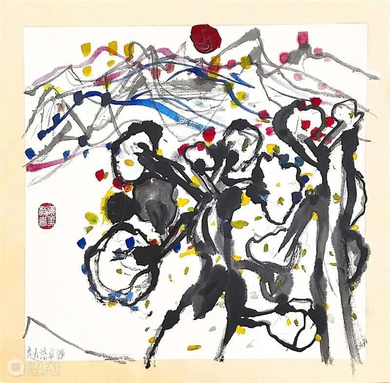 线上展览 | 《童趣·象外之境》水墨进校园合作艺术成果展(三) 童趣 水墨 校园 艺术 成果展 线上 象外之境 汉美 黎岸创艺 上海青浦区协和双语学校 崇真艺客