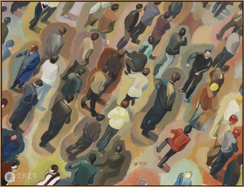 长征空间线上展厅 | 中东铁路:张慧 线上 展厅 中东铁路 张慧 长征空间 室外生活 布面 油画 cm长征空间 时间 崇真艺客