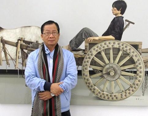 他买空画家的画室,垄断式收藏,回报1000倍暴涨! 画家 画室 方式 台湾 收藏家 林明哲 川美 态度 艺术 赌徒 崇真艺客