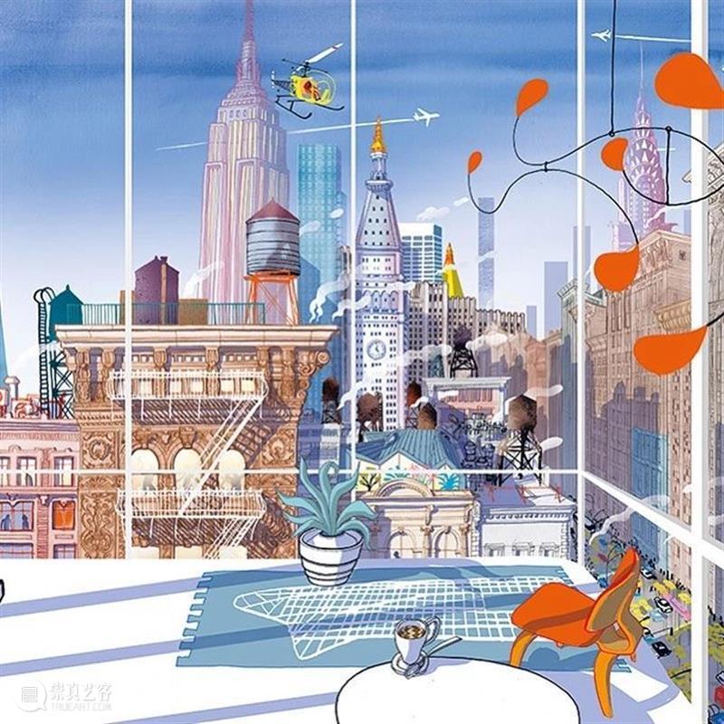 日常生活是城市最美的风景 风景 城市 日常生活 柏林 建筑师 书籍 作家 插画家 Carlo Stanga 崇真艺客