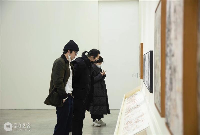 站台中国 一了《神隐录》展览现场 崇真艺客